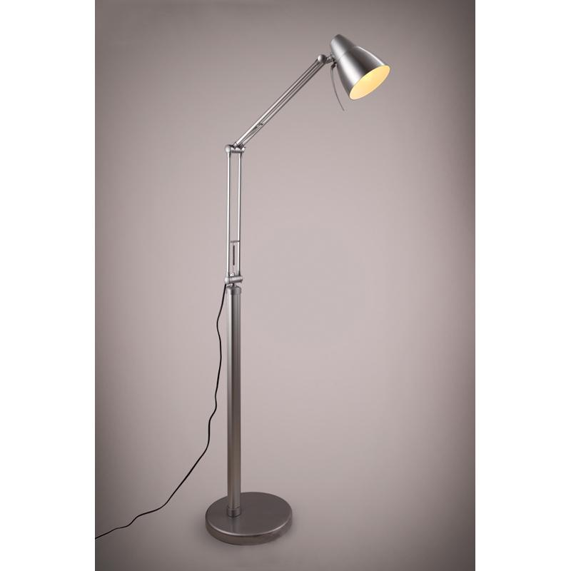 Tall metal shape reading studio lighting fixture for Jcpenney adjustable metal floor lamp by studio